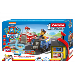 Carrera First Circuit Paw Patrol Race 'N' Rescue 63032