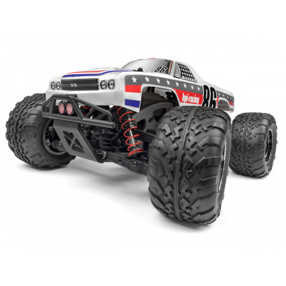 HPI Savage XS Flux Brushless El Camino SS RTR 120093
