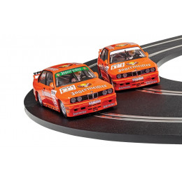 Scalextric Twin Pack BMW E30 M3 Jagermeister (x2) Standard C4110A
