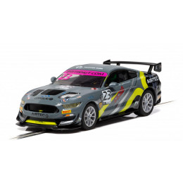 """Scalextric Voiture Ford Mustang GT4 """"British GT 2019"""" Standard C4182"""