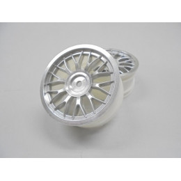AMR Jantes 1/10 Touring 26mm Mesh Silver (x2) AMR-92445S