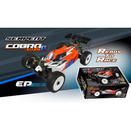 Serpent Buggy SRX8-E 4wd EP RTR + Accus Lipo 600022-4000