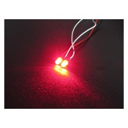 3RACING - LED Flash 3mm Rouge - 3RAC-FLD03/RE