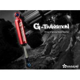 Gmade Amortisseur G-Transition Rouge 80mm (x4) GM20501