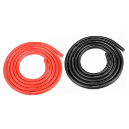 Team Corally Fil Silicone Ultr V+ 14AWG 2x1m C-50122